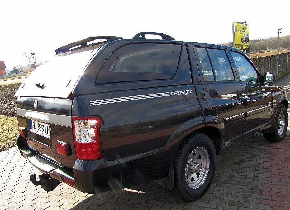 SsangYong MUSSO 2.9 TDI , 4X4 , bezwypadkowy 2