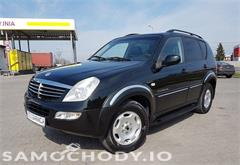 ssangyong SsangYong REXTON bezwypadkowy , 4x4  163 KM