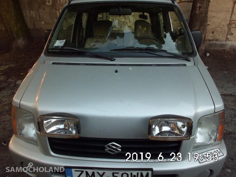 Suzuki Wagon R+ Napęd 4x4 , klimatyzacja,hak 1