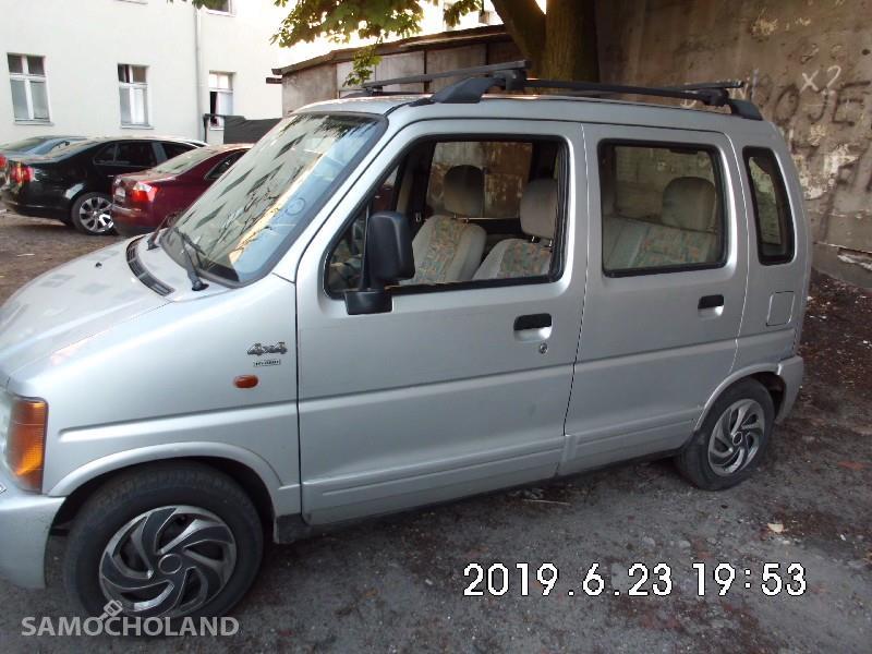 Suzuki Wagon R+ Napęd 4x4 , klimatyzacja,hak 2