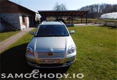 toyota avensis Toyota Avensis II (2003-2009) Automat Książka Do Opłat
