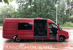 volkswagen Volkswagen Crafter 9 osób, FULL OPCJA, górna klima, łóżko, DVD
