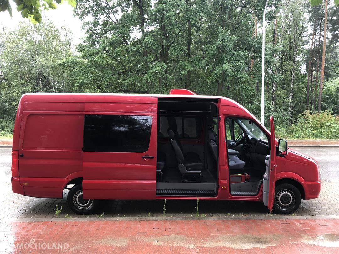 Volkswagen Crafter 9 osób, FULL OPCJA, górna klima, łóżko, DVD 1