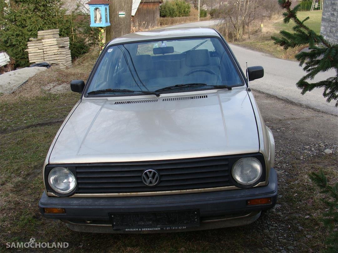 Volkswagen Golf II (1983-1992) Volkswagen Golf II 1,8 benzyna 90 KM fabryczna klimatyzacja 7