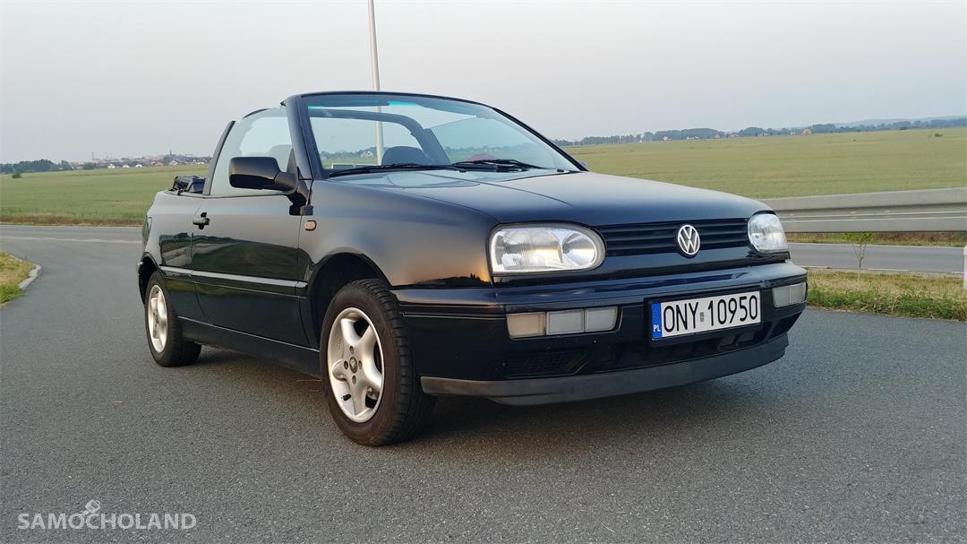 Volkswagen Golf III (1991-1998) Cabrio, zadbany, pierwszy właściciel 7