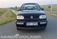 volkswagen z województwa opolskie Volkswagen Golf III (1991-1998) Cabrio, zadbany, pierwszy właściciel