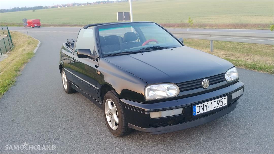 Volkswagen Golf III (1991-1998) Cabrio, zadbany, pierwszy właściciel 2