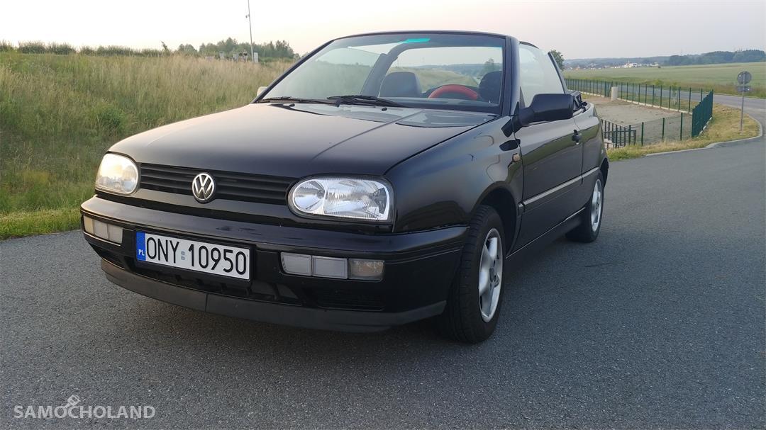Volkswagen Golf III (1991-1998) Cabrio, zadbany, pierwszy właściciel 16