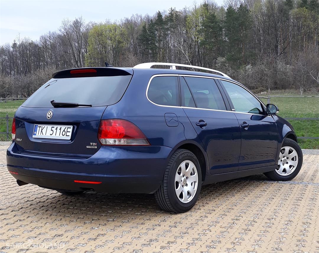 Volkswagen Golf VI (2008-2013) vw golf 2012 r. 1.6 105 KM mega ekonomiczny  2