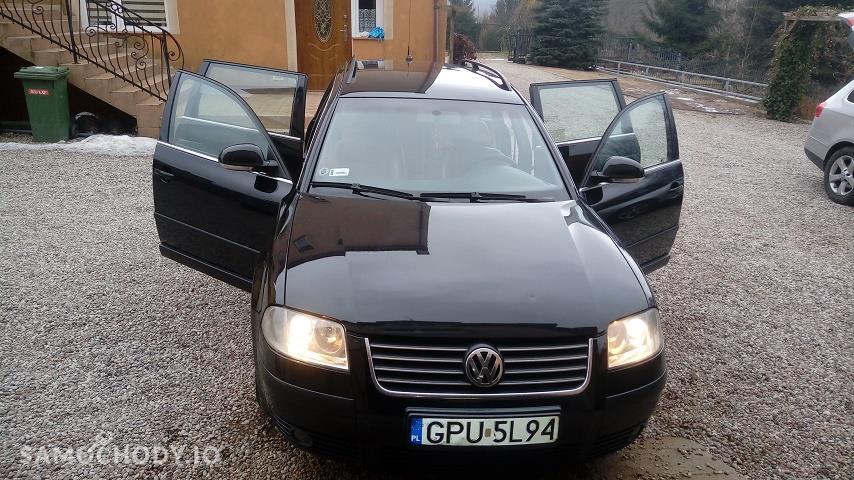 Volkswagen Passat B5 FL (2000-2005) Passat B5fl 1.9 TDI 130 km automat skora foteliki wbudowane 2