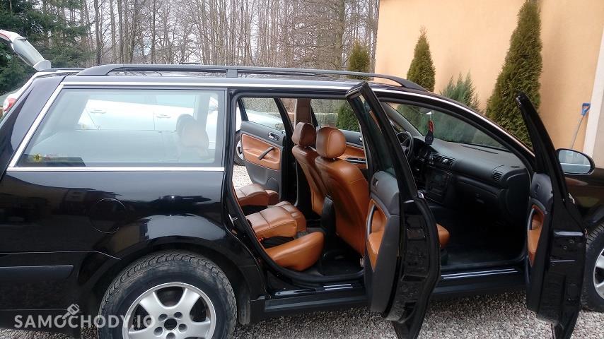 Volkswagen Passat B5 FL (2000-2005) Passat B5fl 1.9 TDI 130 km automat skora foteliki wbudowane 7