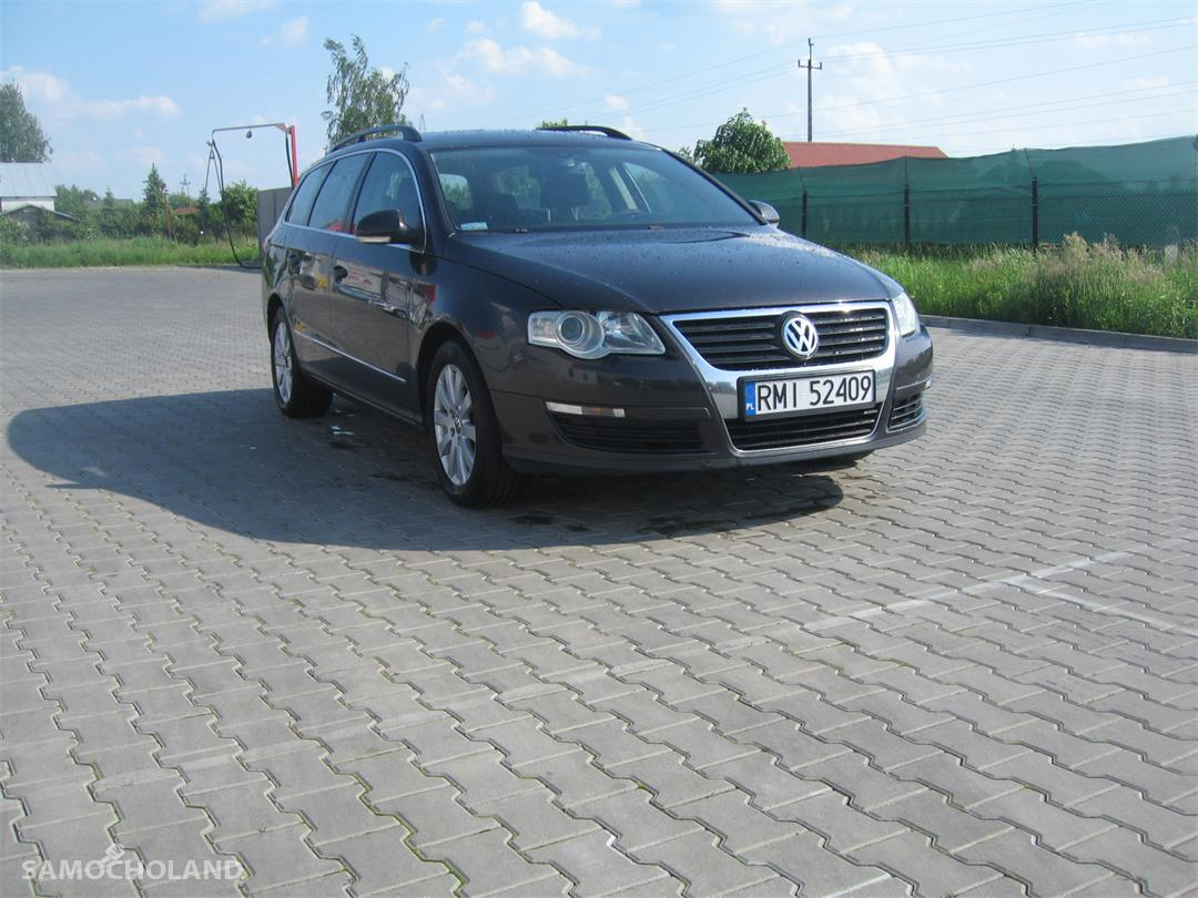 Volkswagen Passat B6 (2005-2010) piekny vw passat b6 kombi combi sprowadzony mocca braz 2.0 diesel 1