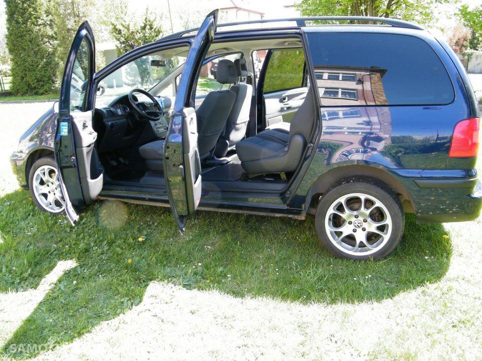 Volkswagen Sharan I (1995-2010) Vw sharan 1,9 tdi  z 2001 r. 4