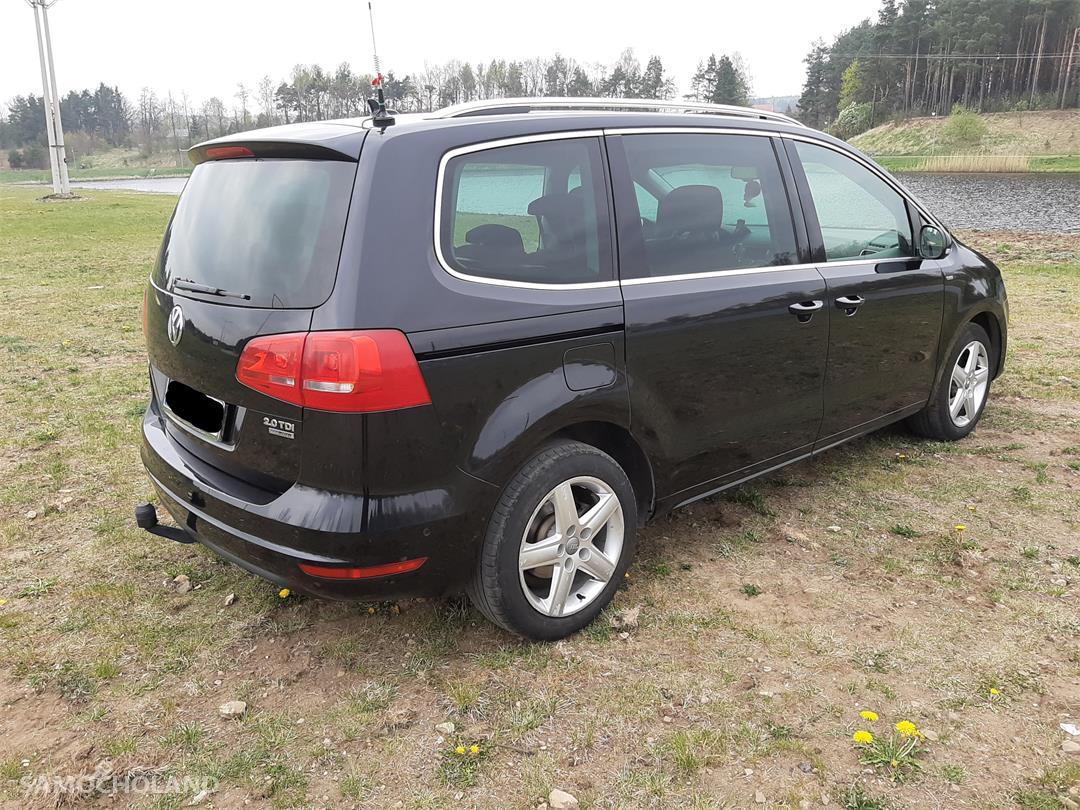 Volkswagen Sharan II (2010-) Volkswagen Sharan Klima zarejestrowany garażowany, pierwszy właściel w kraju 56
