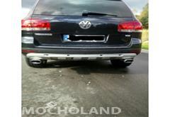 z wojewodztwa zachodniopomorskie Volkswagen Touareg I (2002-2010) Zadbany Touareg w pakiecie King kong 5 litrowy