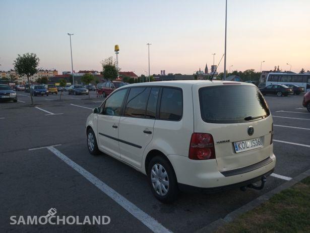 Volkswagen Touran I (2003-2010) Doinwestowany VW Touran 7 osobowy 2008r. 1.9 TDI 105KM w oryginale 2
