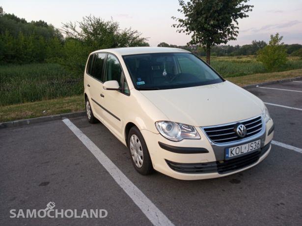 Volkswagen Touran I (2003-2010) Doinwestowany VW Touran 7 osobowy 2008r. 1.9 TDI 105KM w oryginale 1