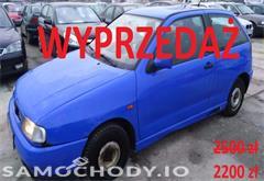 seat ibiza ii (1993-1999) Seat Ibiza 1.6, 1 właściciel, stan dobry, opłaty, WWA!