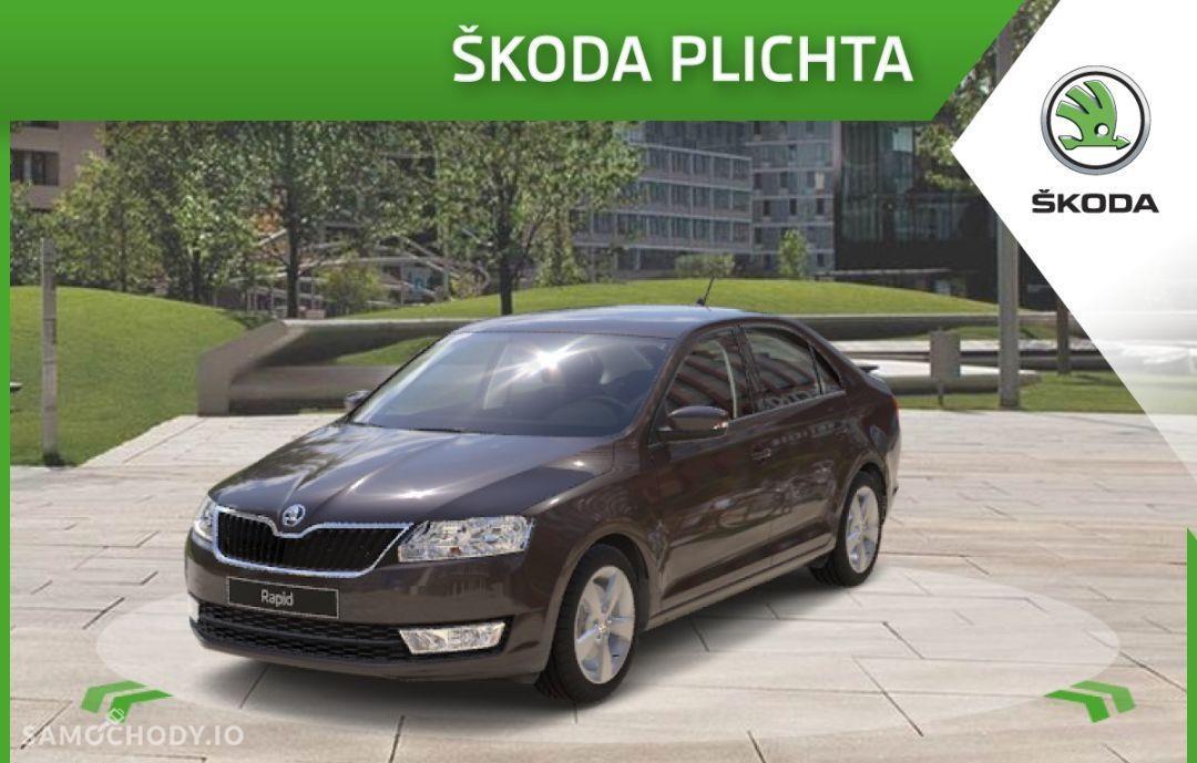 Škoda RAPID 1.4 TSI 125 KM DSG Style P. Comfort Xenon Hak RABAT 12 620 zł 1