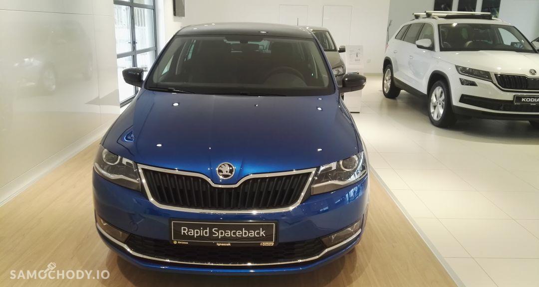 Škoda RAPID Spaceback Style 1.4 TSI 125 KM DSG 4