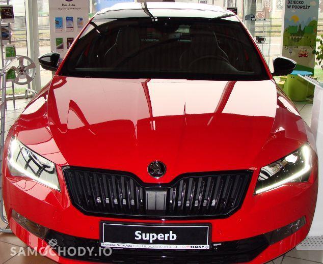 Škoda Superb Sportline 2,0 TDI 190 DSG bogata wersja dostępny od ręki 2