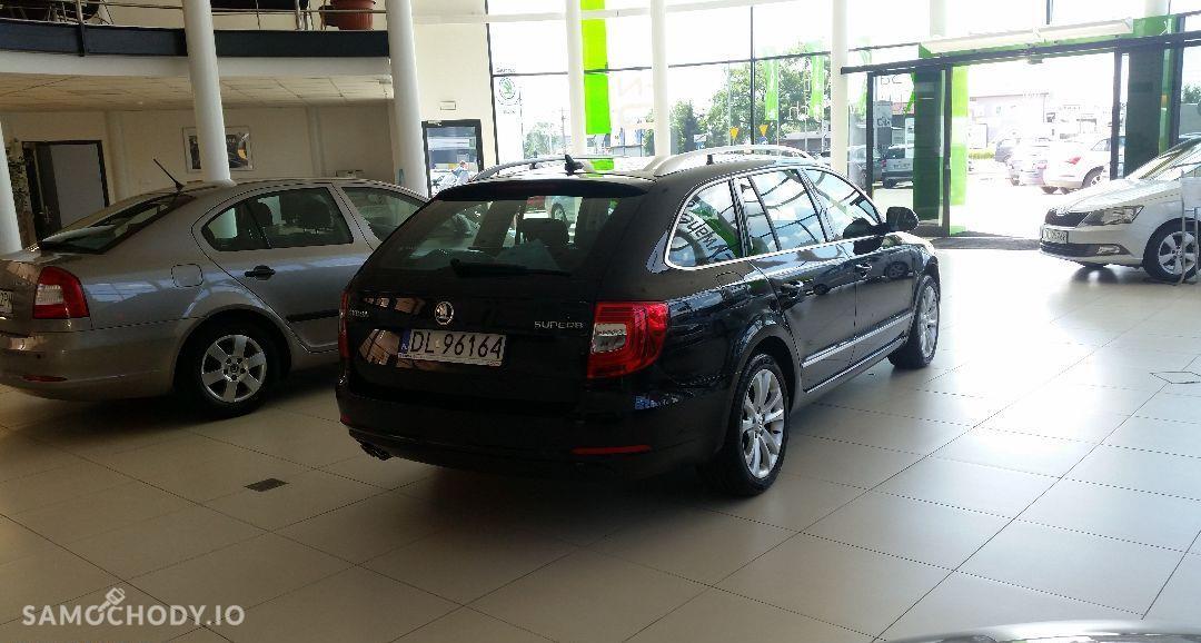 Škoda Superb Skoda Superb Combi Elegance 2.0 TDi 170KM DSG poski salon, I wł. 7