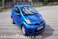 toyota aygo Toyota Aygo Lift, Klima, Elektryka, Bezwypadek 1 Wł, 100% Serwis JAK NOWA!