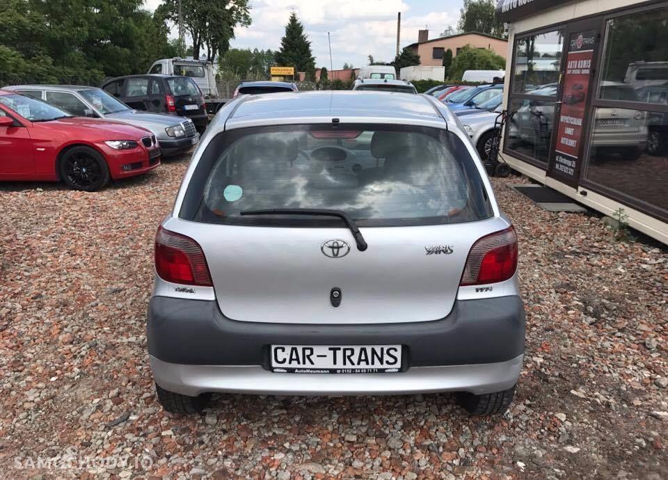 Toyota Yaris 1,0 68 KM benzyna 179tys KM przebiegu Klimatyzacja 5 drzwi Alufelgi 37