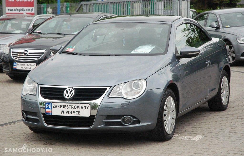 Volkswagen Eos TDi, Zarejestrowany, Ubezpieczony, Zadbany, Auto z Gwarancją, 1
