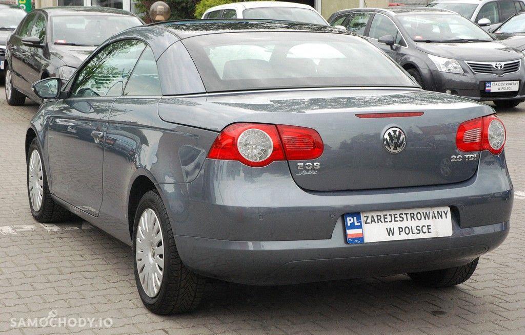 Volkswagen Eos TDi, Zarejestrowany, Ubezpieczony, Zadbany, Auto z Gwarancją, 16