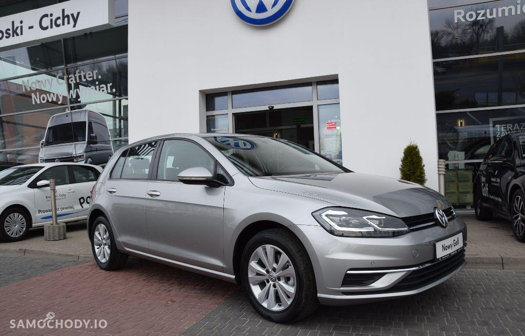 Volkswagen Golf Nowy Comf. 1.4TSI 125KM, Climatronic, Led, Cz. park, Alarm, Od ręki!!! 1