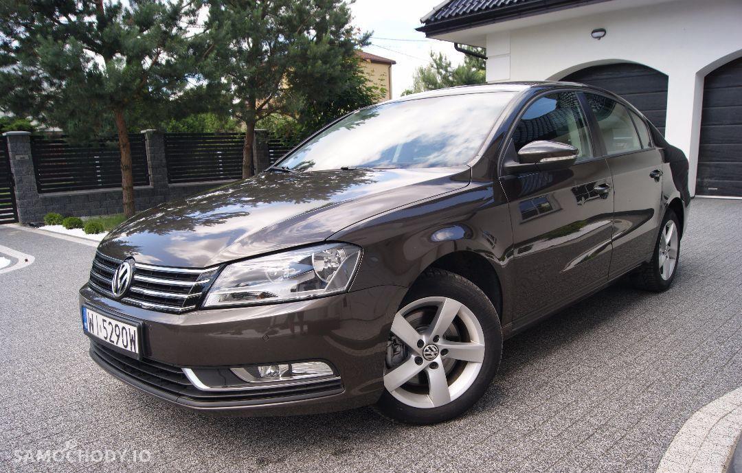 Volkswagen Passat 2014r 1.6 TDI ORYGINAŁ TYLKO 80 tys km Sedan Serwis ASO Cena NETTO 1