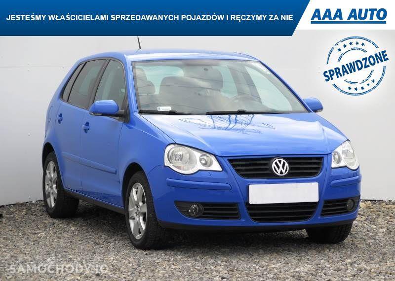 Volkswagen Polo 1.9 TDI, Klima, Tempomat, Parktronic, Podgrzewane siedzienia,ALU 1