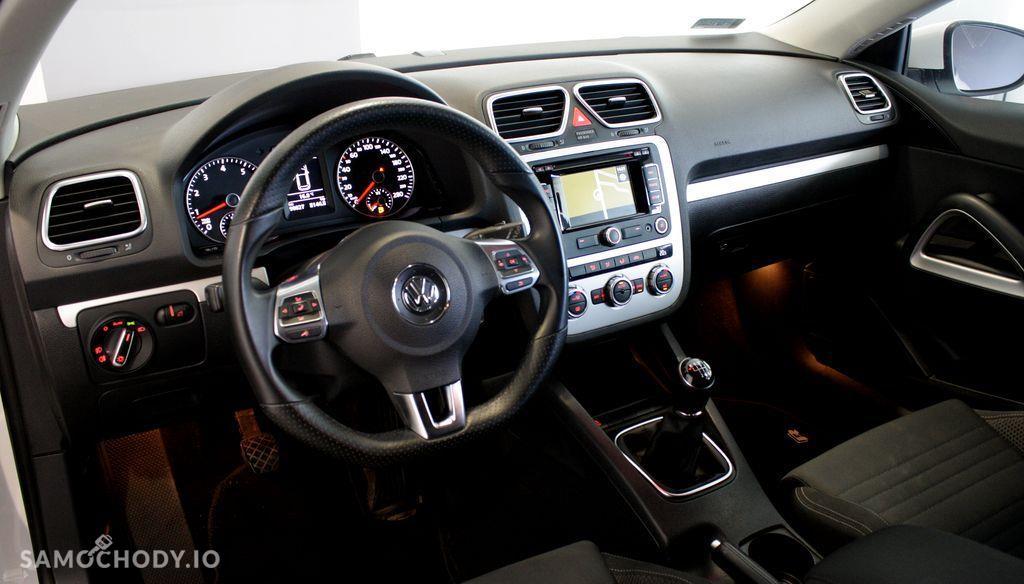 Volkswagen Scirocco Salon PL I wł Bezwypadkowy R-Line Biała Perła Navi fv23% 11