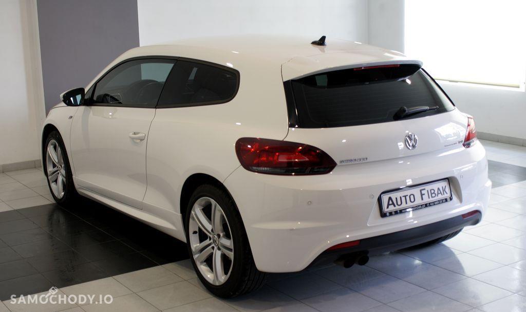 Volkswagen Scirocco Salon PL I wł Bezwypadkowy R-Line Biała Perła Navi fv23% 4