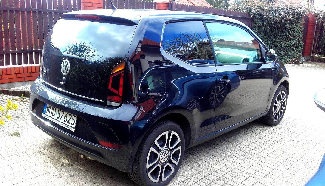 Volkswagen up! VW Up! HIGH AUTOMAT!, jak nowy, I wł., salon PL 1