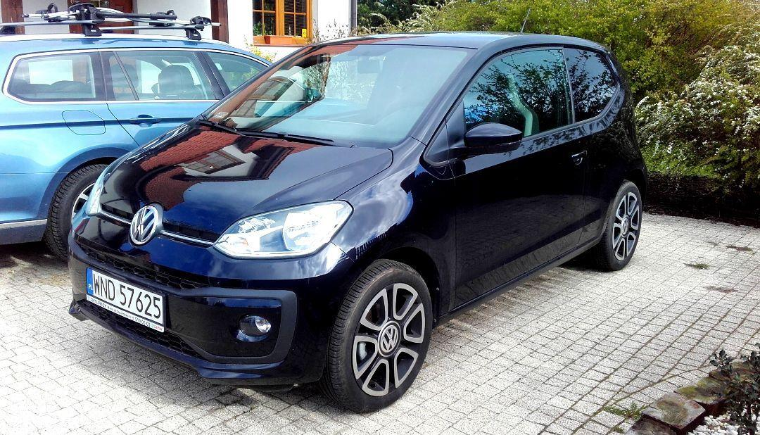 Volkswagen up! VW Up! HIGH AUTOMAT!, jak nowy, I wł., salon PL 7