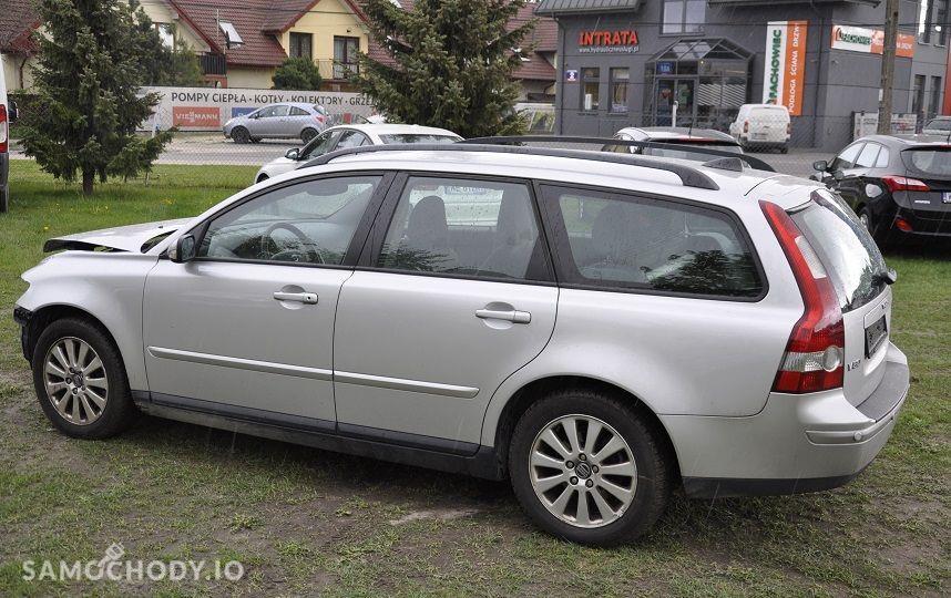 Volvo V50 ; USZKODZONY ; 2.0D 136KM ; 7
